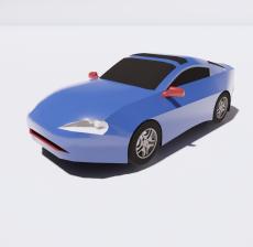 城市概念轿车_Sketchup模型