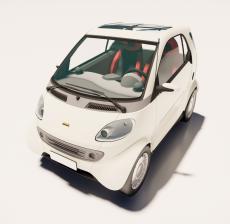 微型车_Sketchup模型