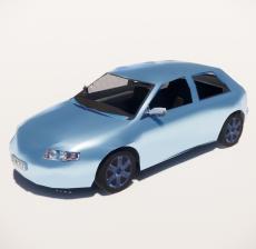 汽车107_Sketchup模型