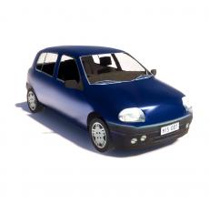 汽车116_Sketchup模型
