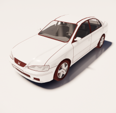 汽车129_Sketchup模型