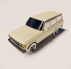 汽车137_Sketchup模型