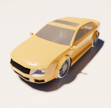 汽车13_Sketchup模型