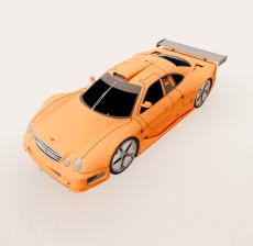 汽车142_Sketchup模型
