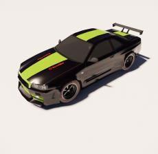汽车147_Sketchup模型
