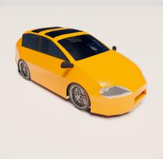 汽车14_Sketchup模型