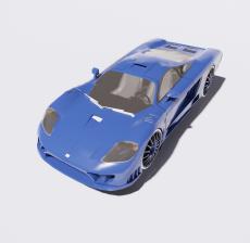 汽车152_Sketchup模型