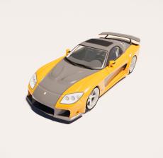 汽车164_Sketchup模型