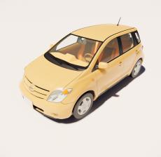 汽车166_Sketchup模型