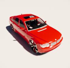 汽车203_Sketchup模型
