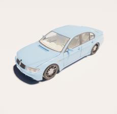 汽车205_Sketchup模型