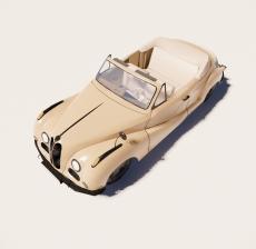 汽车206_Sketchup模型