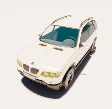 汽车207_Sketchup模型