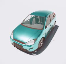 汽车228_Sketchup模型
