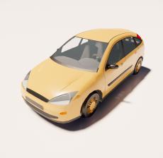 汽车231_Sketchup模型
