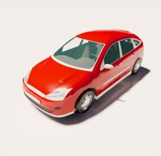 汽车233_Sketchup模型