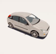 汽车234_Sketchup模型