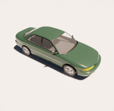 汽车243_Sketchup模型