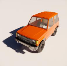 汽车250_Sketchup模型