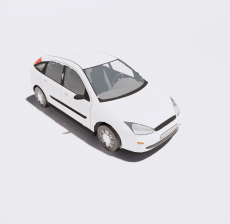 汽车276_Sketchup模型
