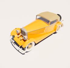老爷车_Sketchup模型