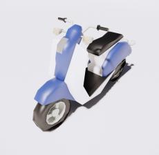 摩托车3_Sketchup模型
