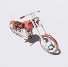 摩托车4_Sketchup模型