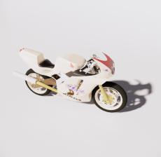 摩托车8_Sketchup模型