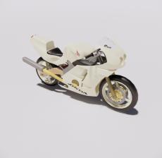摩托车9_Sketchup模型