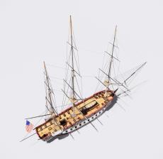 海盗船_Sketchup模型