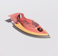 游艇_Sketchup模型