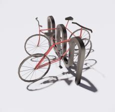 自行车9_Sketchup模型