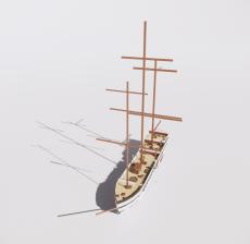 船舶10_Sketchup模型