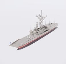 船舶25_Sketchup模型
