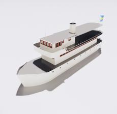 船舶27_Sketchup模型