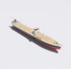 船舶30_Sketchup模型