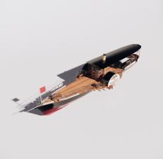 船舶36_Sketchup模型