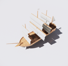 船舶7_Sketchup模型