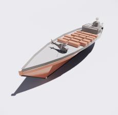 船舶8_Sketchup模型