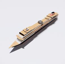 船舶9_Sketchup模型