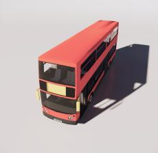 二层巴士_Sketchup模型