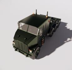 军车1_Sketchup模型