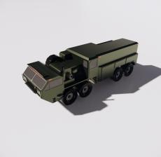 军车2_Sketchup模型