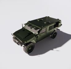 军车3_Sketchup模型