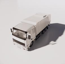 卡车13_Sketchup模型