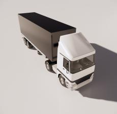 卡车3_Sketchup模型