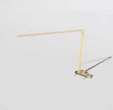 塔吊1_Sketchup模型