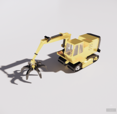 工程施工27_Sketchup模型