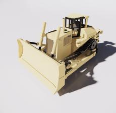 挖掘机1_Sketchup模型
