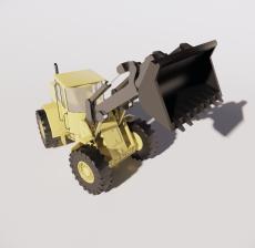 挖掘机2_Sketchup模型
